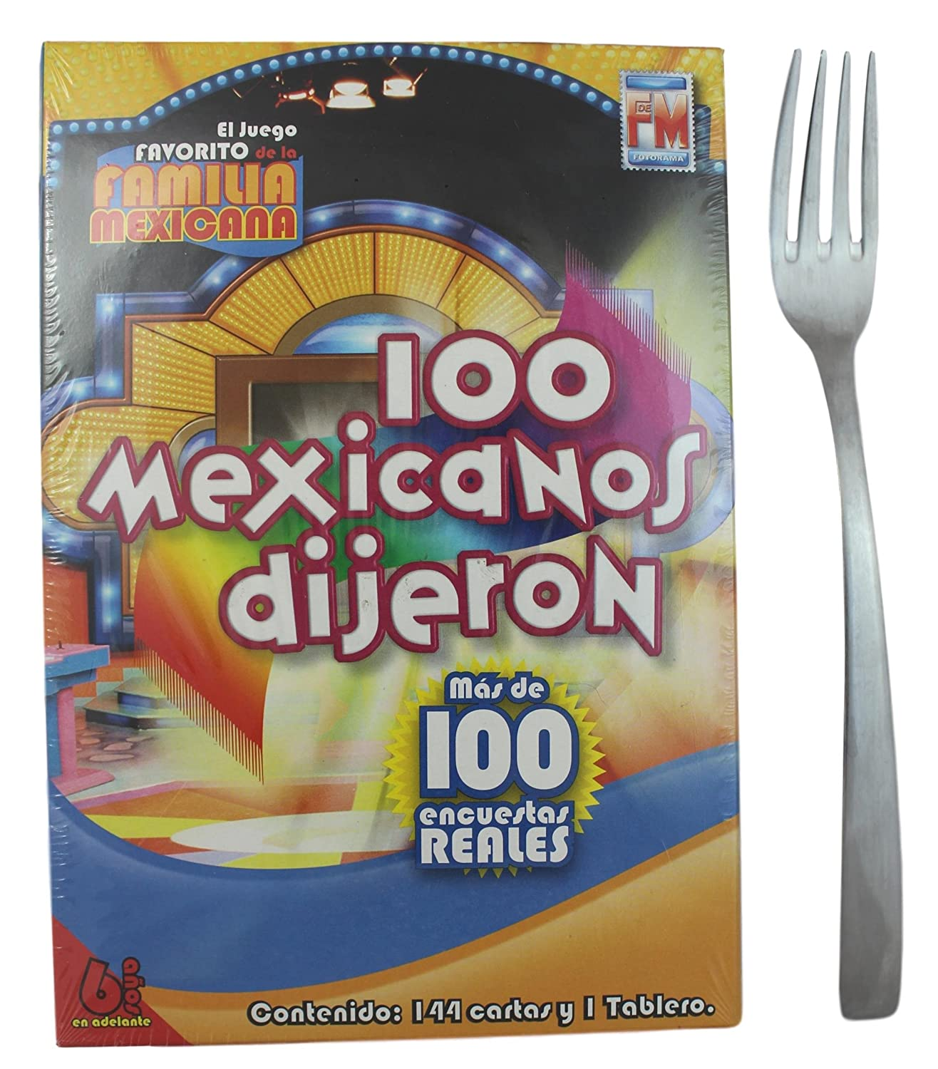 100 Mexicanos Dijeron Board Game Mini Size (Spanish Edition)