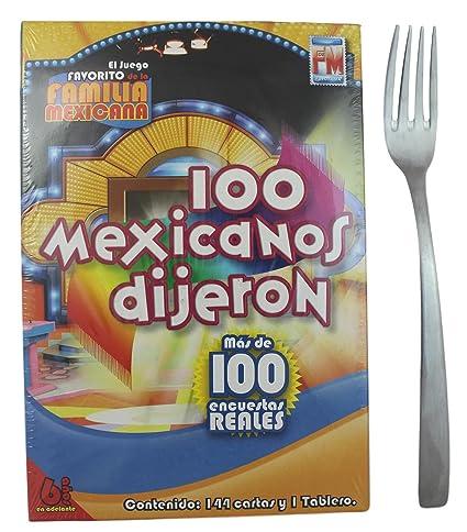 Amazon Com 100 Mexicanos Dijeron Board Game Mini Size Spanish