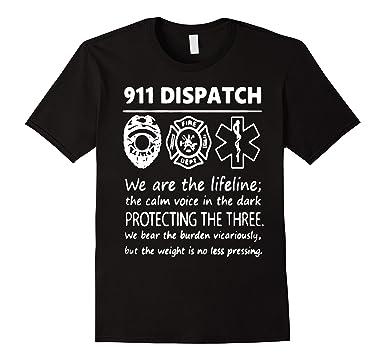 9ad9f401 Amazon.com: 911 Dispatcher Shirts - 911 Dispatcher T-Shirt: Clothing