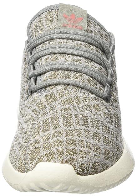 Adidas Tubular Shadow W, Zapatillas para Mujer, Gris (Ch Solid Grey/Ch Solid Grey/Raw Pink), 42 EU