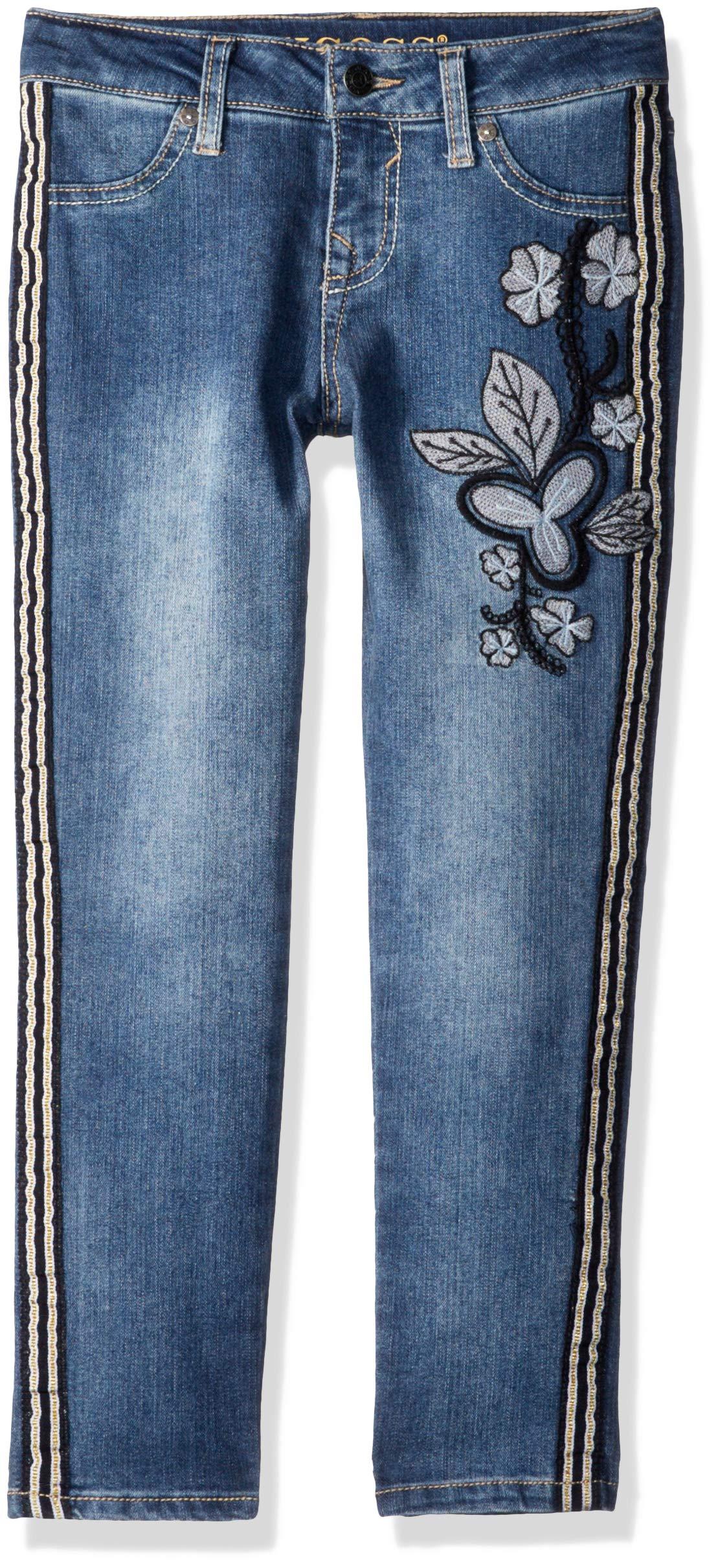 VIGOSS Girls' Big Fashion Jean, Tuxedo City Blue 7