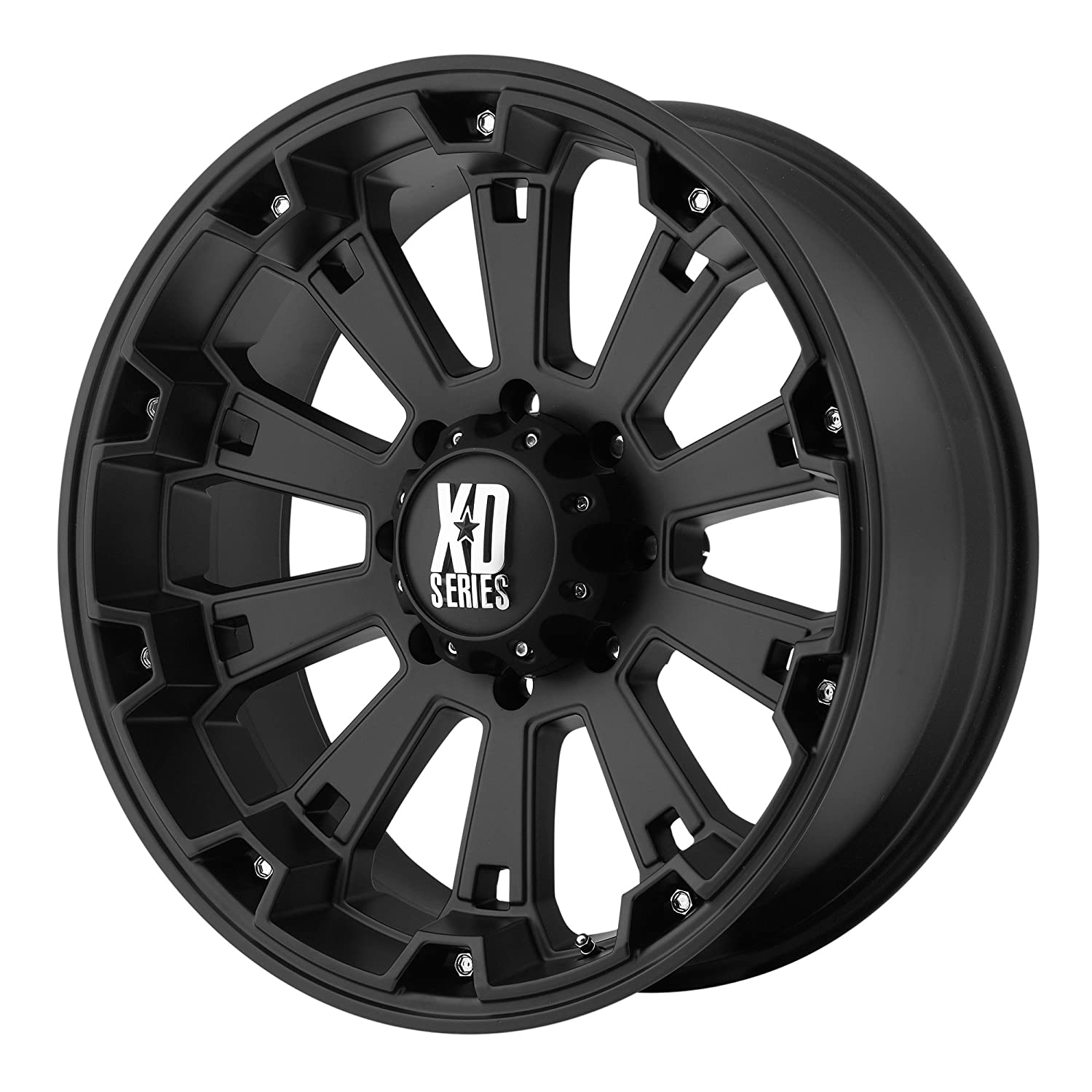 20x9//8x170mm, 0mm offset XD Series by KMC Wheels XD800 Misfit Matte Black Wheel