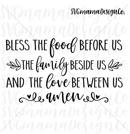 image about Bless the Food Before Us Printable identify : Pene Bless The Food items Prior to Us The Household Beside
