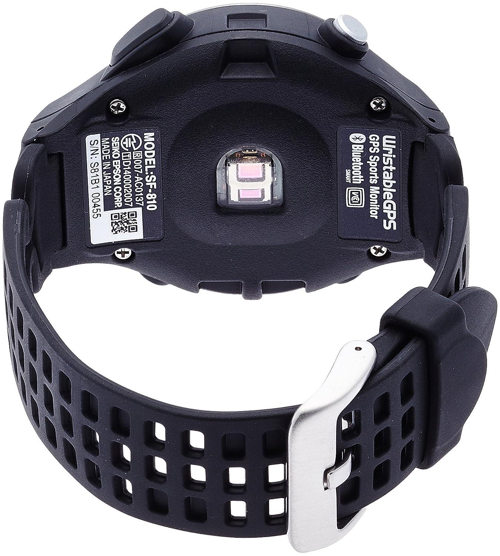 849878dcdb Amazon   [エプソン リスタブルジーピーエス]EPSON Wristable GPS 腕時計 GPS・脈拍計測機能付 SF-810B    レディース腕時計   腕時計 通販
