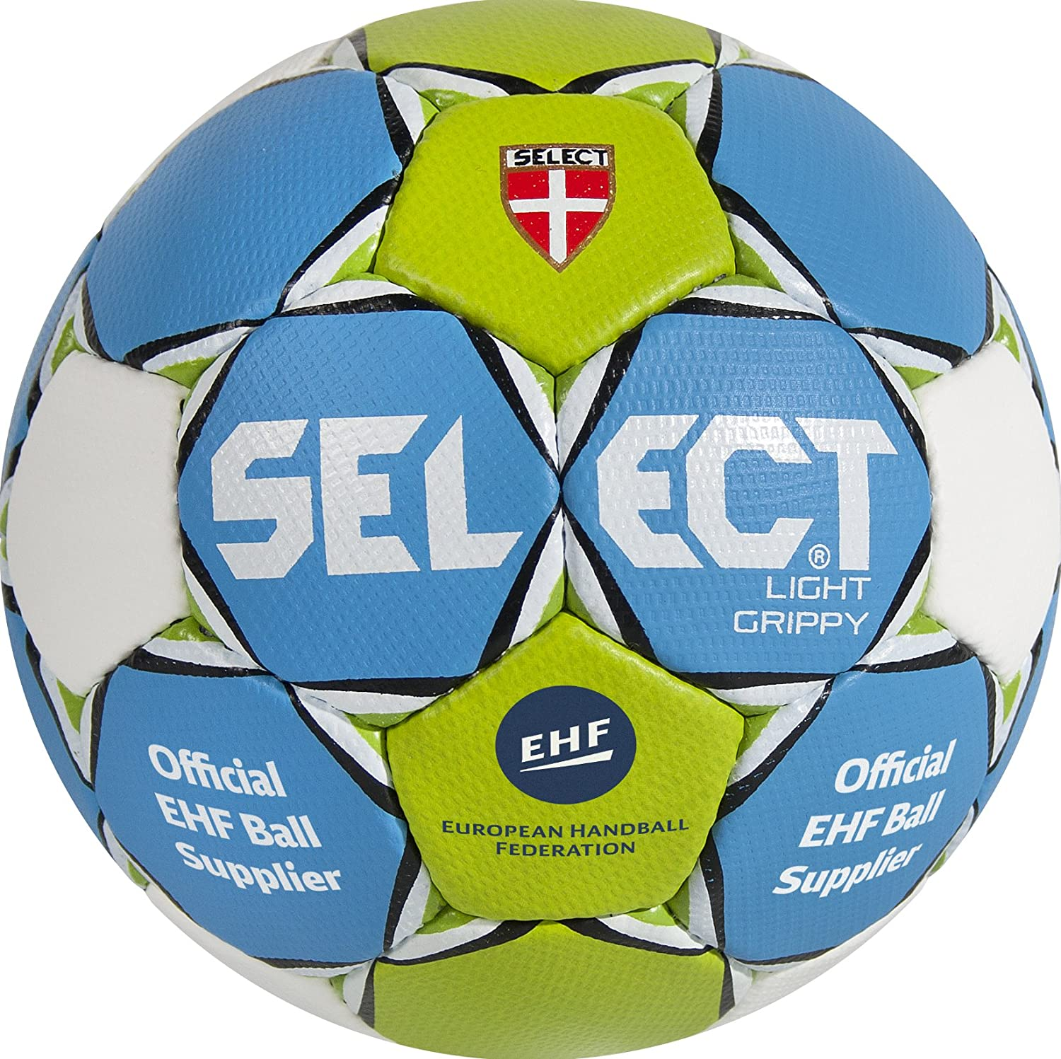 Select Ballon Light Grippy Bleu/Vert/Blanc