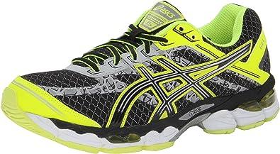 Recuperar conferencia Pesimista  Amazon.com   ASICS Men's Gel-Cumulus 15 Lite-Show Running Shoe,  Black/Onyx/Flash Yellow, 13 M US   Road Running