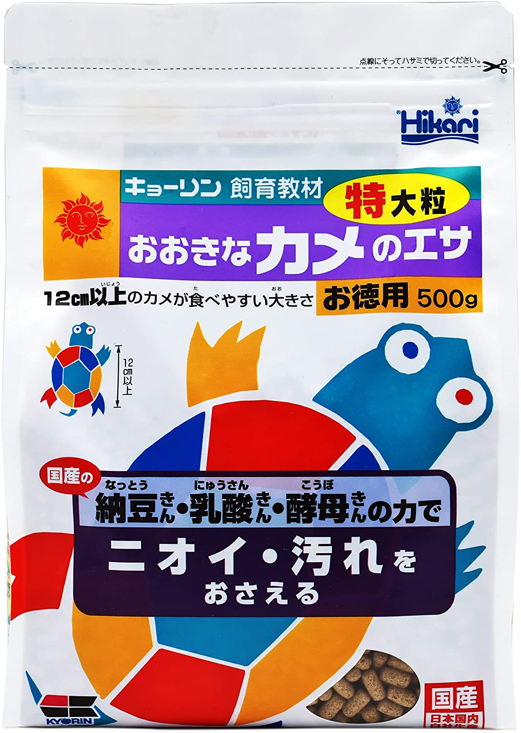 KYORIN Hikari Turtle Food (Extra Large) [500g] (Japan Import)