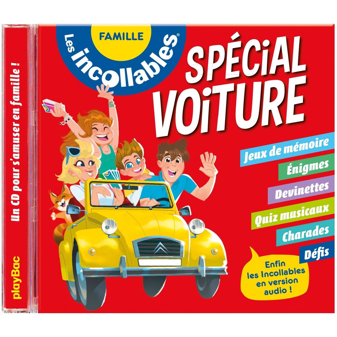 Amazon.fr - Les incollables - CD spécial voiture - Édition 2018 - Collectif  - Livres