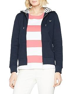 Bleu Crew Sweat ltindigo 1 Zip 2 Femme 38 Clothing Shirt 1159687 xBwTrBI70q