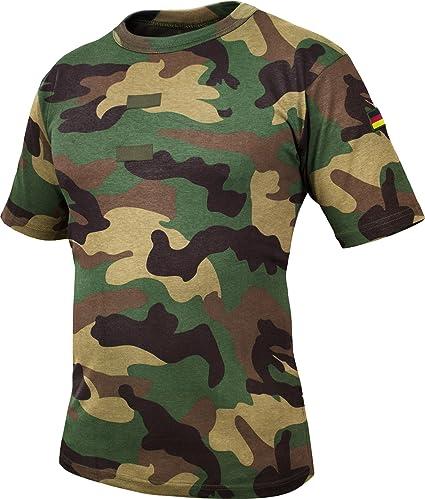 Kleidung & Accessoires Hemden & T-shirts 3er Pack Original Bundeswehr T-shirts Tropen Bw T-shirt Khaki Unterhemd 2er