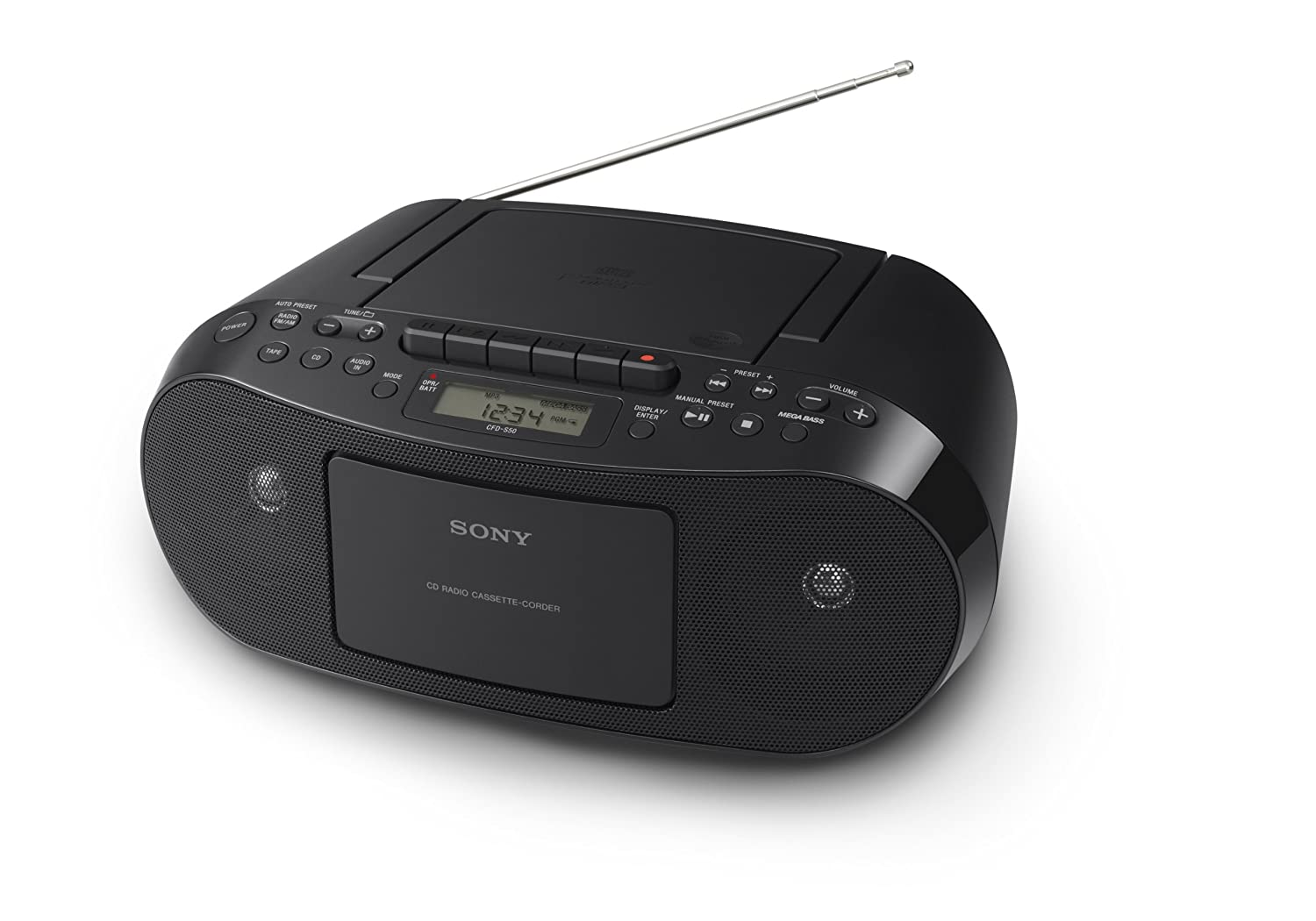 Sony CFD-S50 CD/Cassette Boombox