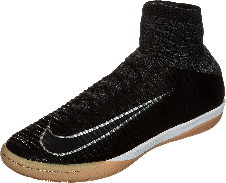 delicadeza Ver insectos Currículum  Amazon.com: Nike MercurialX Proximo II TC IC Mens Football Boots 852537  Soccer Cleats (US 8.5, Black Metallic Silver 001): Shoes