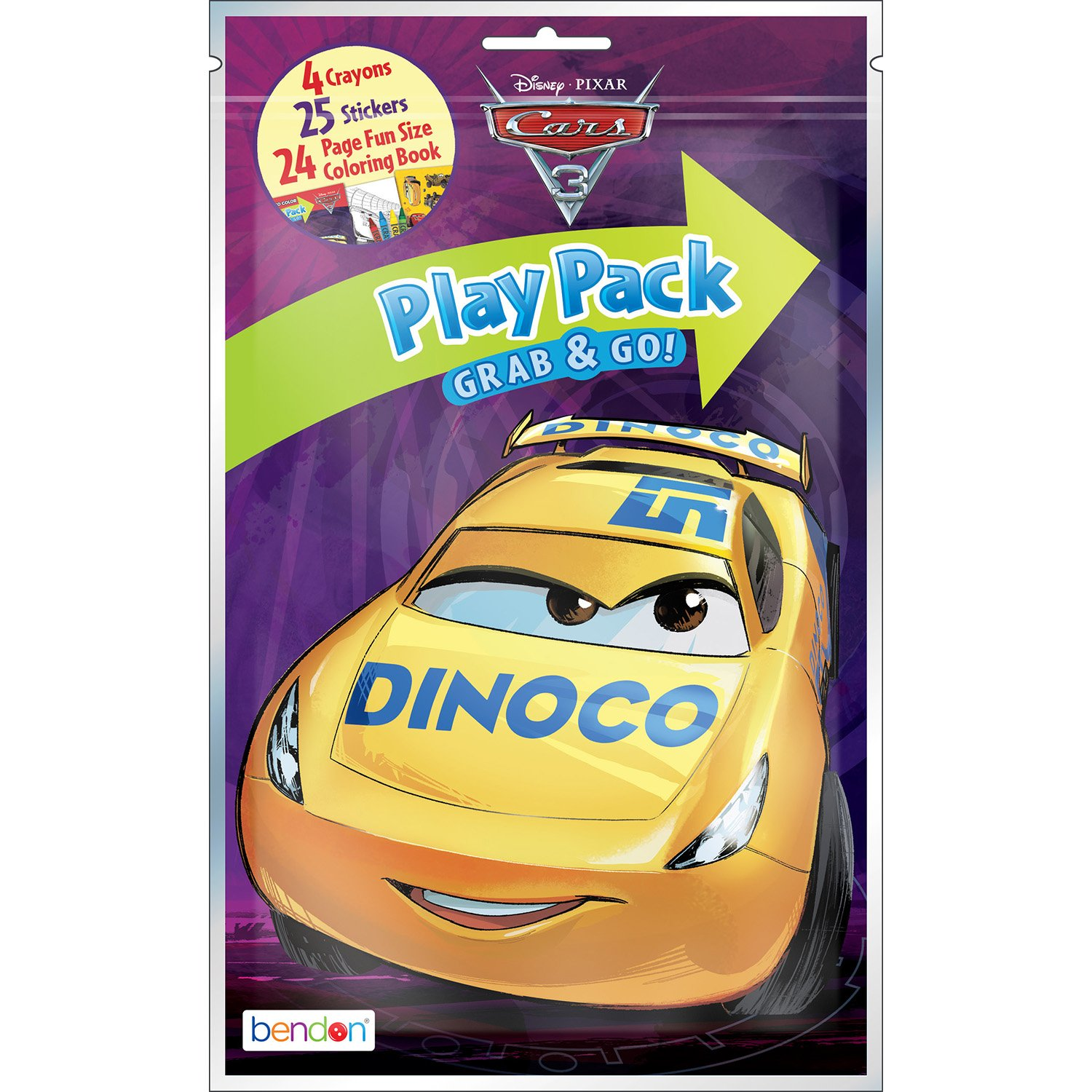 Amazon Bendon Cars 3 Giant Coloring and Activity Book x