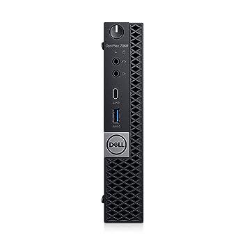 Dell OptiPlex 7060, 2,40 GHz, 8ª generación de procesadores Intel Core i7, i7-8700T, 8 GB, 256 GB, Windows 10 Pro: Dell: Amazon.es: Informática