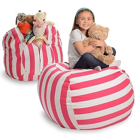 Creative QT Stuffed Animal Storage Bean Bag Chair