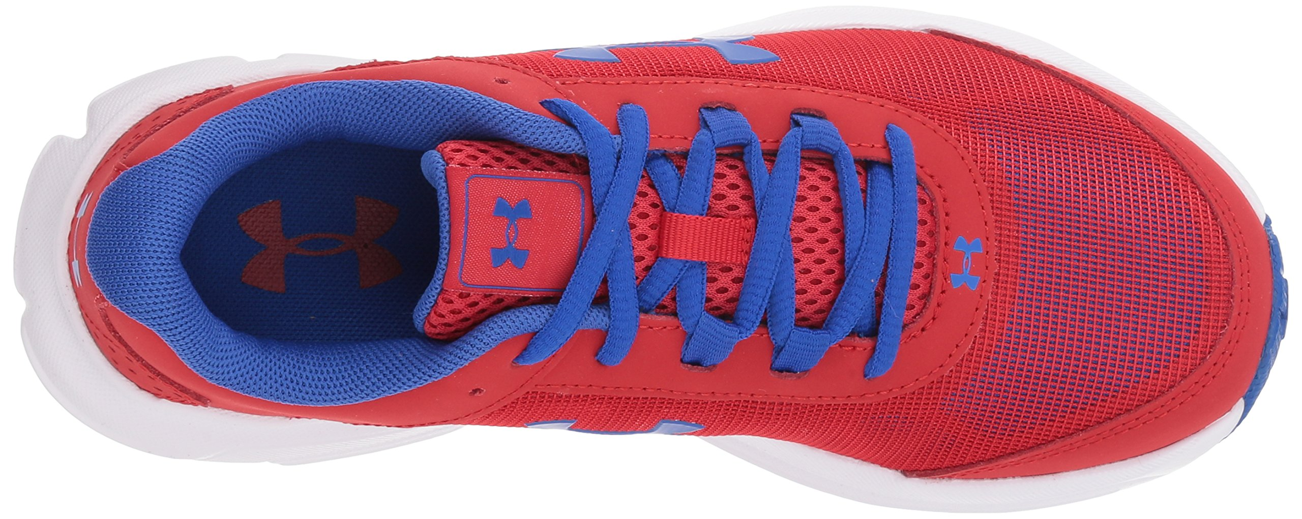 Under Armour Kids' Grade School Rave 2 Sneaker,Red (601)/White,3.5 M US by Under Armour (Image #7)
