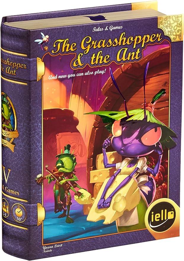 Amazon.com: El Grasshopper y la hormiga Junta Juego: Toys ...