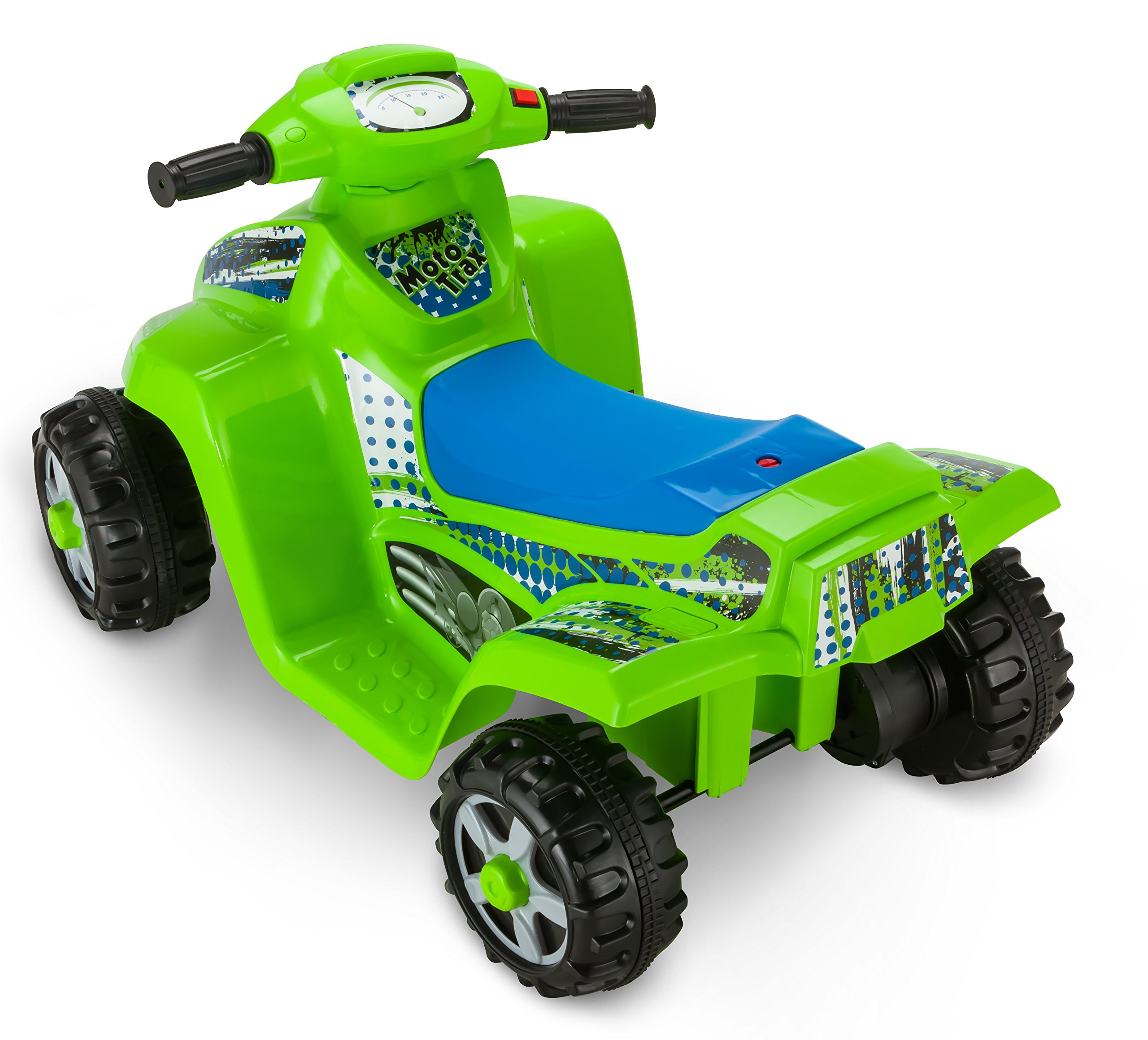 Kid Trax Moto Trax 6V Toddler Quad Ride On, Green by Kid Trax (Image #2)