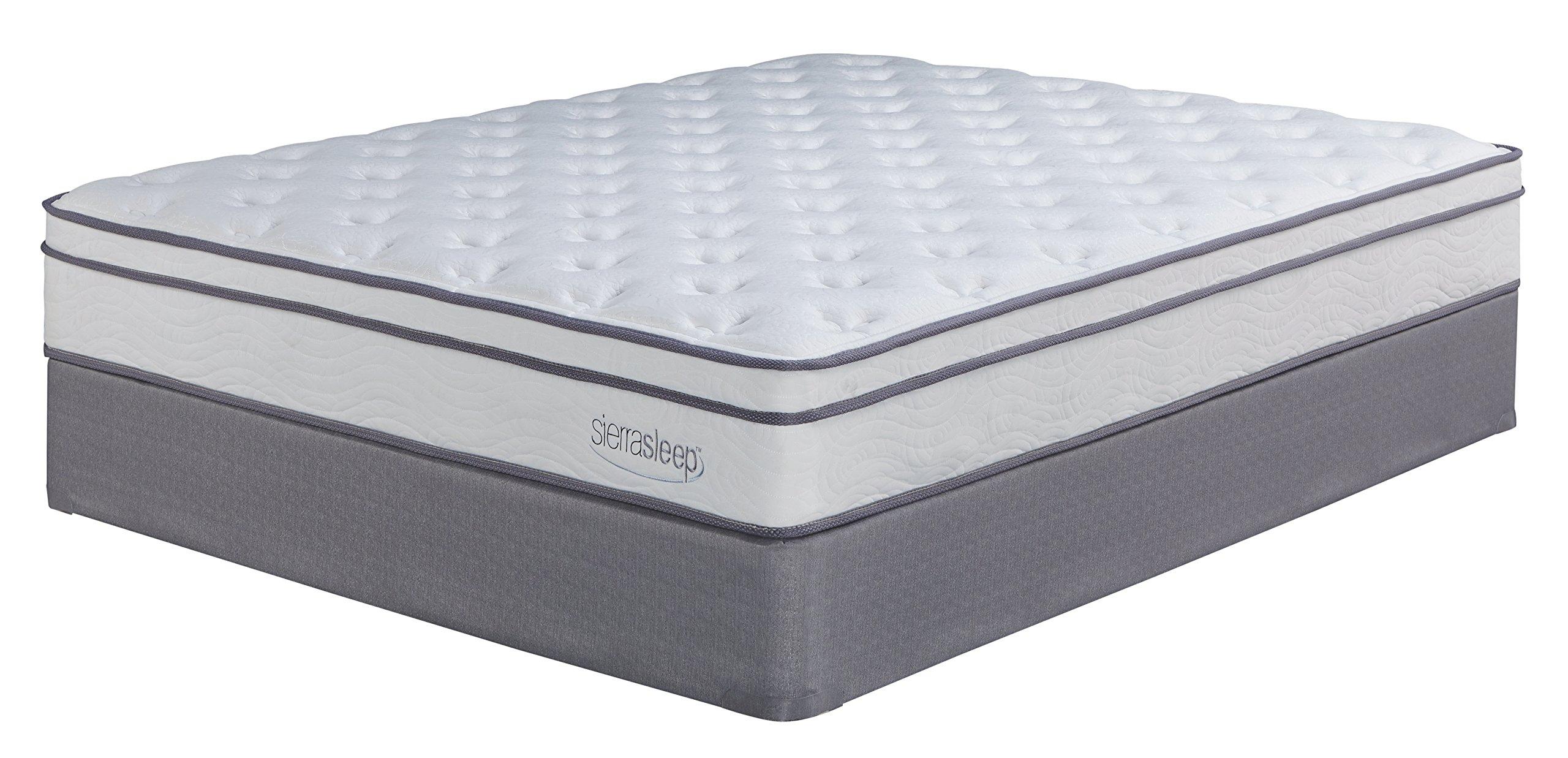 Sierra Sleep by Ashley M90711 Mattress, Twin, White