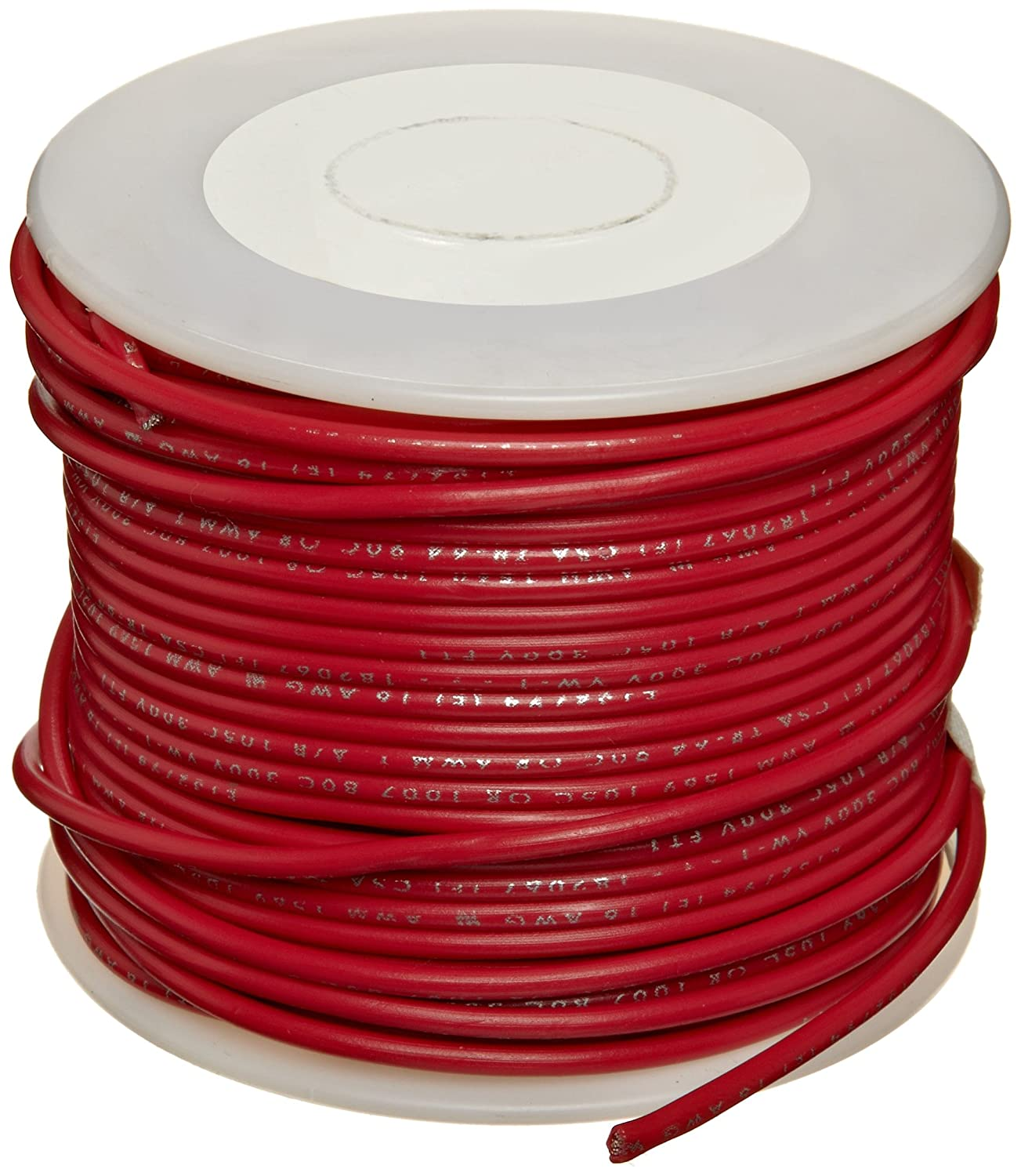 UL1007 Commercial Copper Wire 16 AWG 1000 Length Bright Small Parts Pack of 1 Red Pack of 1 0.050 Diameter 1000/' Length 0.050 Diameter
