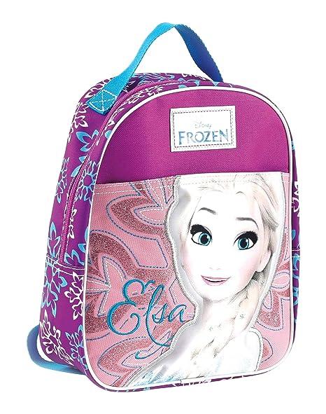 più economico 05207 8ceb6 Frozen Zaino Asilo Zainetto per bambini, Poliestere, Rosa, 30 cm