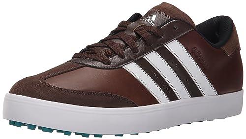 314ef9fbb Adidas Adicross V - Zapatillas de Golf para Hombre, Brown/White/EQT Green