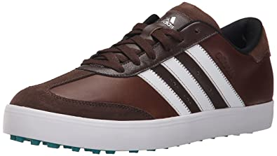 adidas Men's Adicross V Golf Shoe, Brown/White/EQT Green, ...