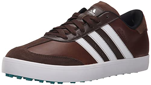 wholesale dealer dbf4b ca669 Adidas Mens Adicross V Golf Shoe, BrownWhiteEQT Green, ...