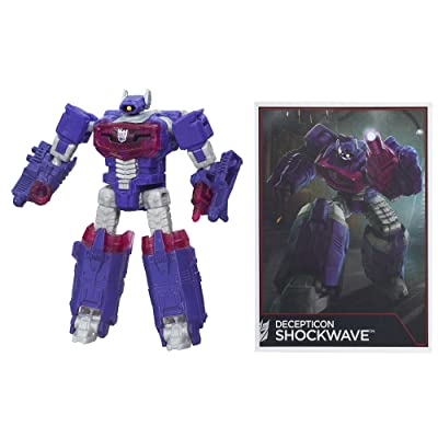 Transformers Generations Combiner Wars Legends Class Shockwave Figure: Toys & Games
