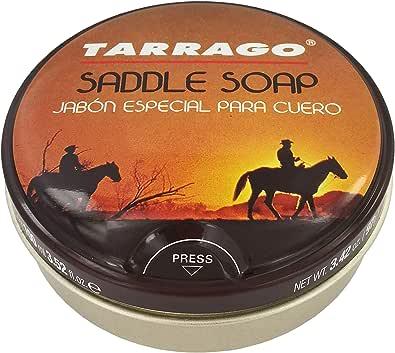 Tarrago   Jabón Especial Para Cuero Saddlery 100 ml   Limpia Cuero Liso, Especialmente Guarnicionería   Limpiador de Calzado de Piel   Cuidado del Calzado   Color Natural