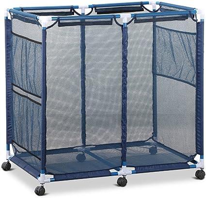 Durable portátil piscina de almacenamiento bin Rolling malla cesta organizador nadar playa carro ser la primera para escribir un examen. Con eBook: Amazon.es: Oficina y papelería