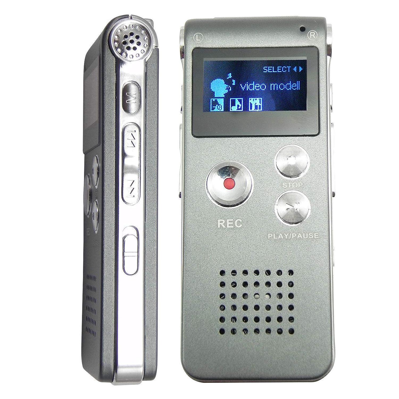 Amazon.com: Voice Activated Mini Spy 8GB Digital Sound Audio Recorder  Dictaphone MP3 Player: Musical Instruments