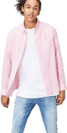 Marca Amazon - find. Regular Oxford - Camisa Hombre: Amazon.es: Ropa y accesorios