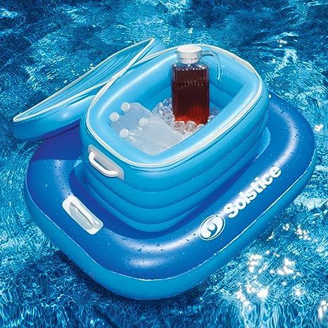 Solstice Cool Cat hinchable enfriador de (2 piezas flotador