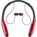 Bluetooth Headphones 14Hr Working Time, Truck Driver Bluetooth Headset, Wireless Magnetic Neckband Earphones, V4.2 Noise Cancelling Earbuds w/ Mic, Compatible with Any Bluetooth Equitments
