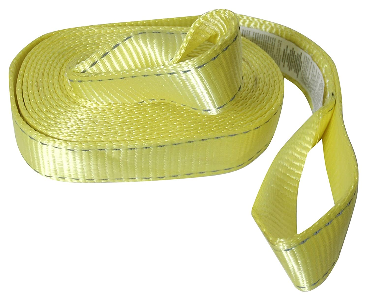 Reese Secure 9426400 20 Reflective Tow Strap with Loop Ends