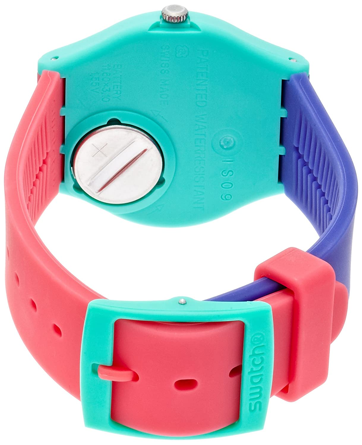 Amazon.com: Swatch Unisex GG215 Shunbukin Analog Display Quartz Multi-Color Watch: Watches