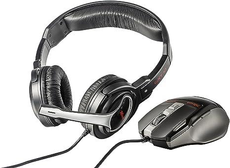 Trust GXT 249 - Pack de Auriculares y ratón Gaming: Amazon.es: Informática
