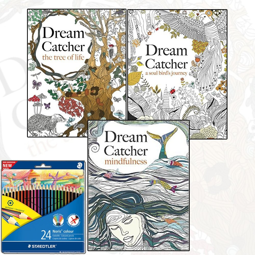 Coloring book for adults ebay - Adult Coloring Books Ebay Dream Catcher Anti Stress Relaxing Adult Colouring 3 Book Art Therapy