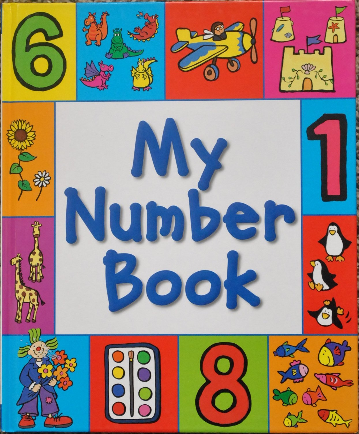 My Book Set of 4: My Word Book, My Color Book, My Number Book, and ...