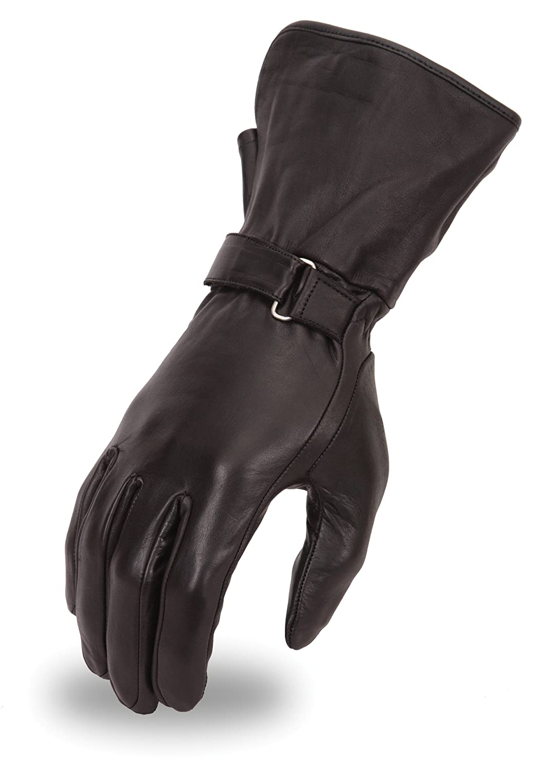 Leather gauntlet driving gloves - Amazon Com First Manufacturing Women S Light Weight Gauntlet Gloves Black Large Automotive