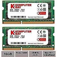 Komputerbay zestaw 16 GB (2 x 8 GB) 204-pinowy DDR3-1867 1867MHz SO-DIMM (1866MHz / 1867MHz, PC3-14900) passend dla…