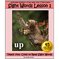 Adorable Kittens & Cats (Lesson 1) Help Your Child Learn Sight Words (Teach Your Child to Read Sight Words) (English Edition)