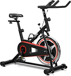 JLL Unisex IC200 Indoor Cycling Exercise Bike 110 x 50.5 X 107 cm