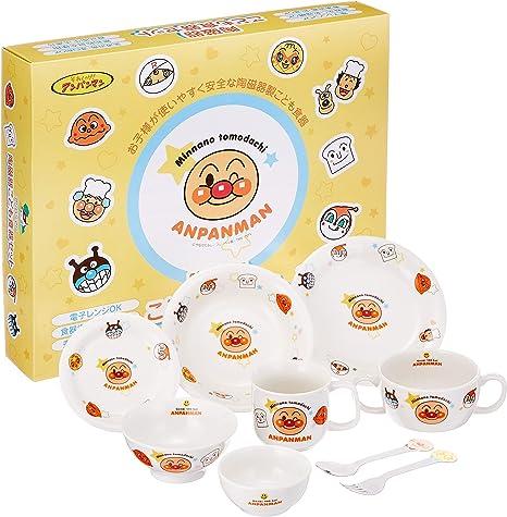 Anpanman children/'s tableware gift set M JAPAN Anime character