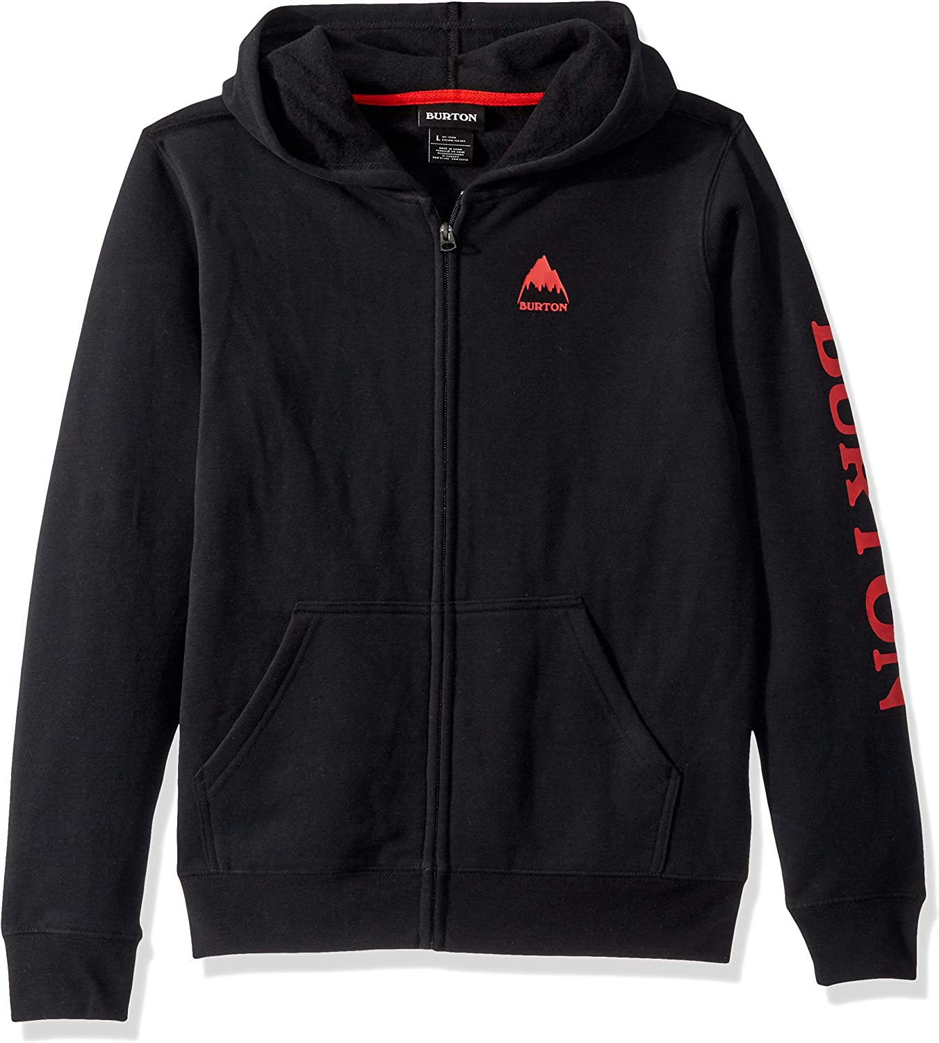 Burton Kids Elite Full Zip Hoodie Sweatshirt