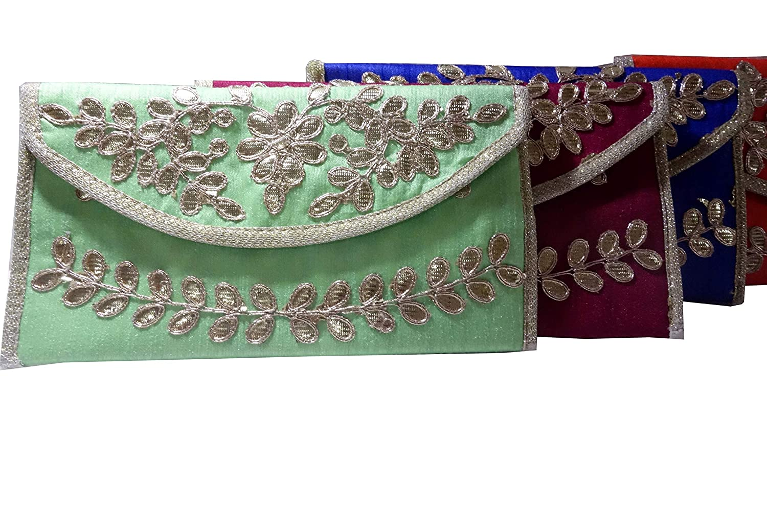 - Indian Wholesale 100 pc lot Bulk Mandala Hand Bag Ethnic Clutches Purse Shoulder for Ladies by Panchal Creation-11