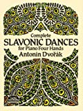 Complete Slavonic Dances for Piano Four Hands (Dover Music for Piano)