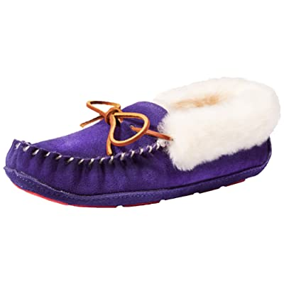 ACORN Women's Sheepskin Moxie Moccasin Slipper | Slippers