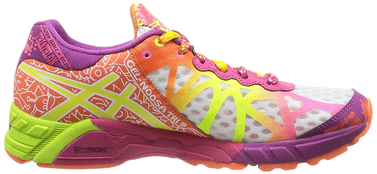 asics de colores mujer
